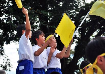 子どもの運動会は楽しい^^