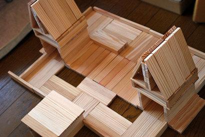 積み木の大事は、十分な量と、形^^