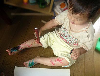 子どもとお絵かき、あなたのお絵かき
