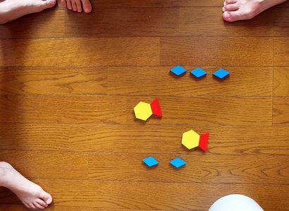 パターンブロックで遊ぼ