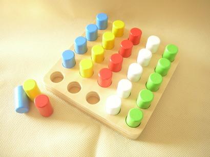 遊びを通じて、数や形を感じる子どもたち