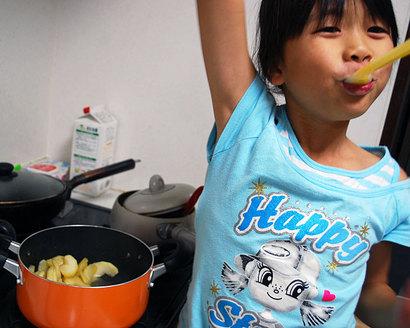 子どもの食い意地からおもう^^