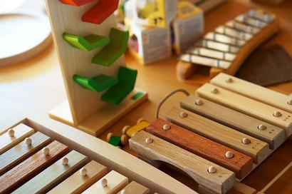 楽器のおもちゃ