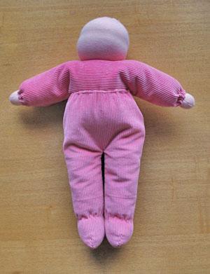 人形の体ができました^^