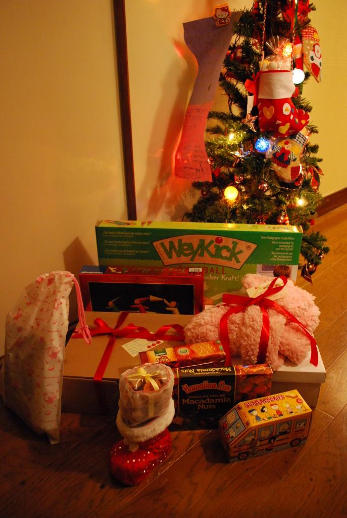 クリスマスの朝のために