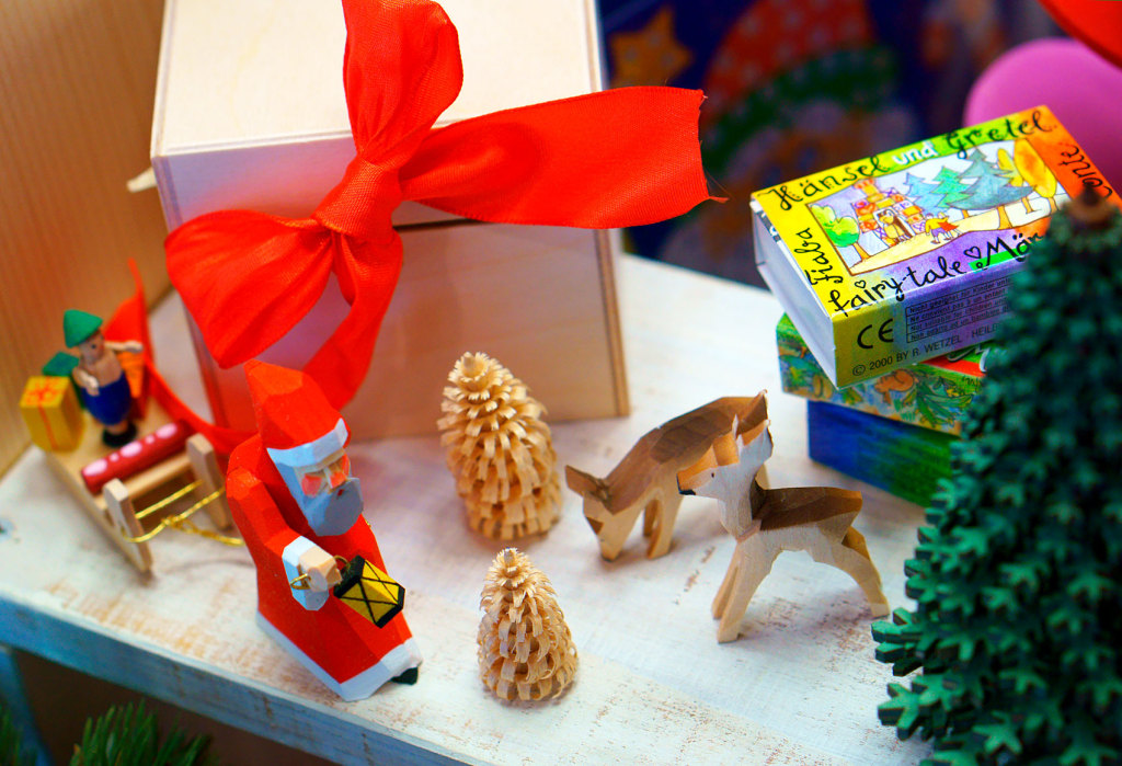 クリスマス、サンタさんのファンタジー