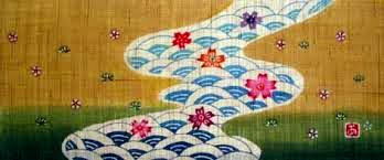 小黒三郎 円びな五段飾り 特製垂れ幕 川・金茶