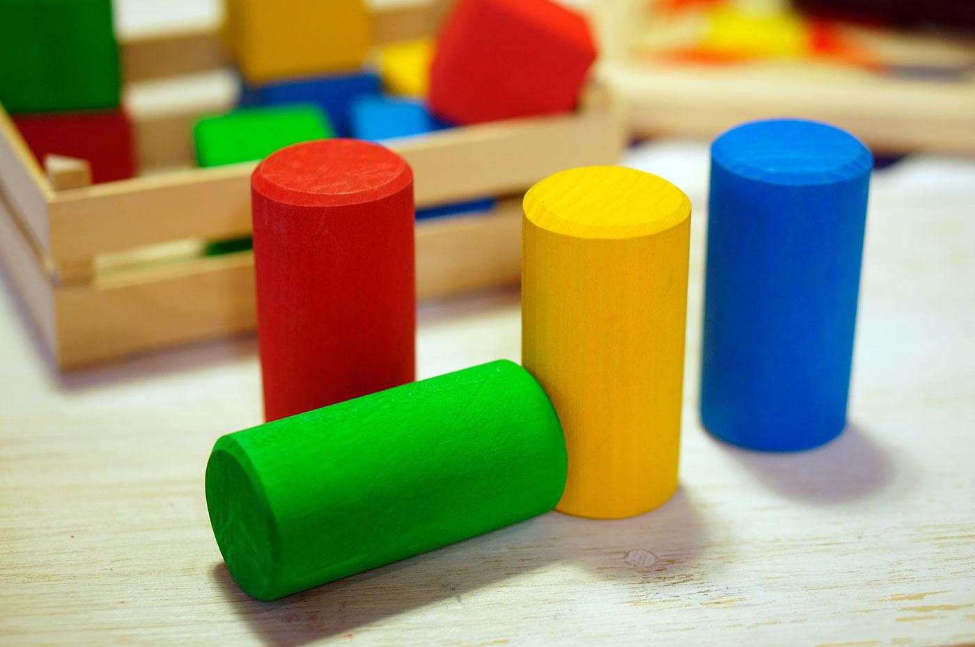 積み木 円柱