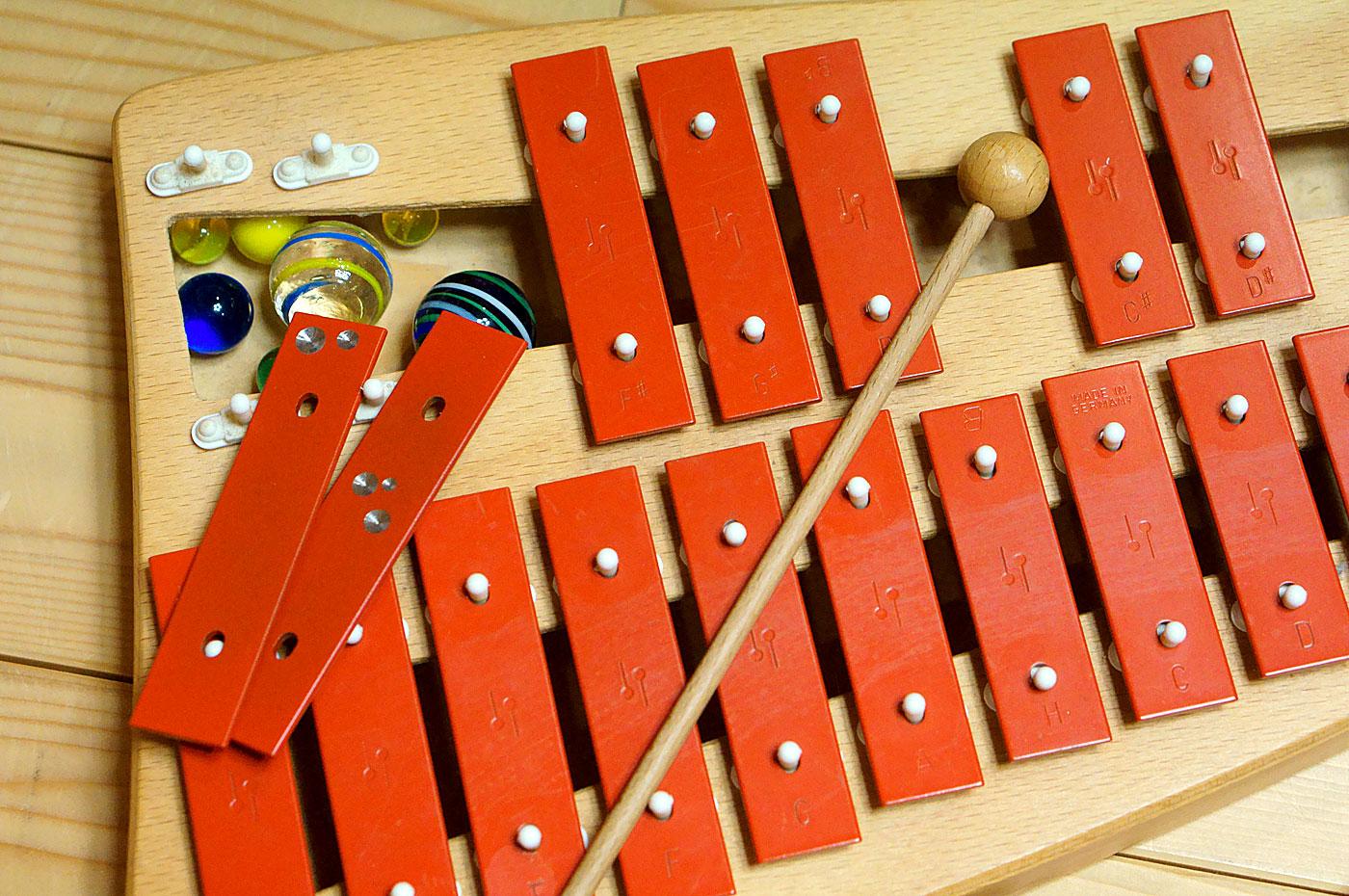 ゾノア社 2段メタルフォン 鉄琴