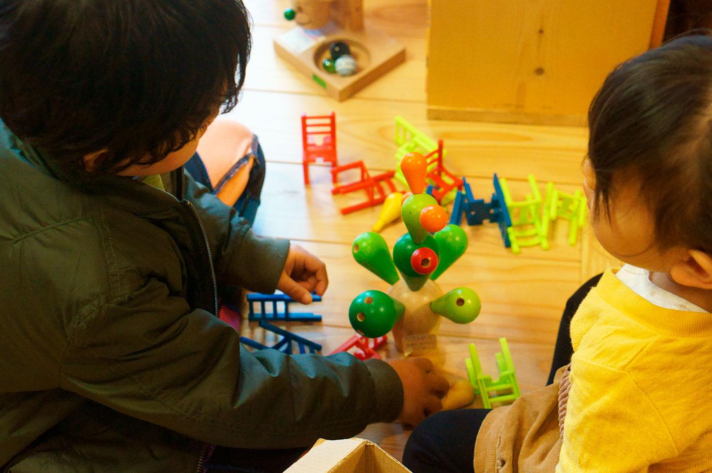 おもちゃの広場 サボテンバランスゲーム