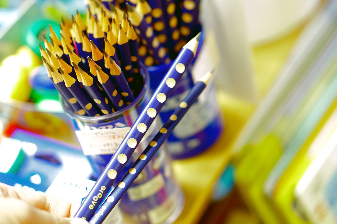 グルーヴ 鉛筆 持ち方