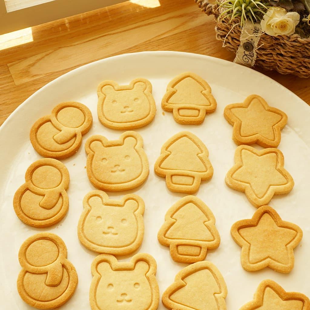 すーさん先生の、米粉クッキー作り&発達のおはなし会