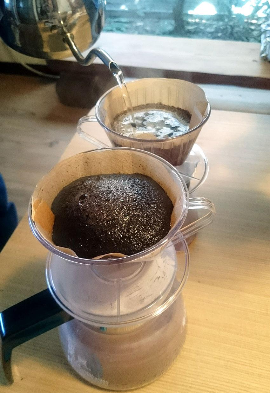 かばんねこで、コーヒー焙煎講座