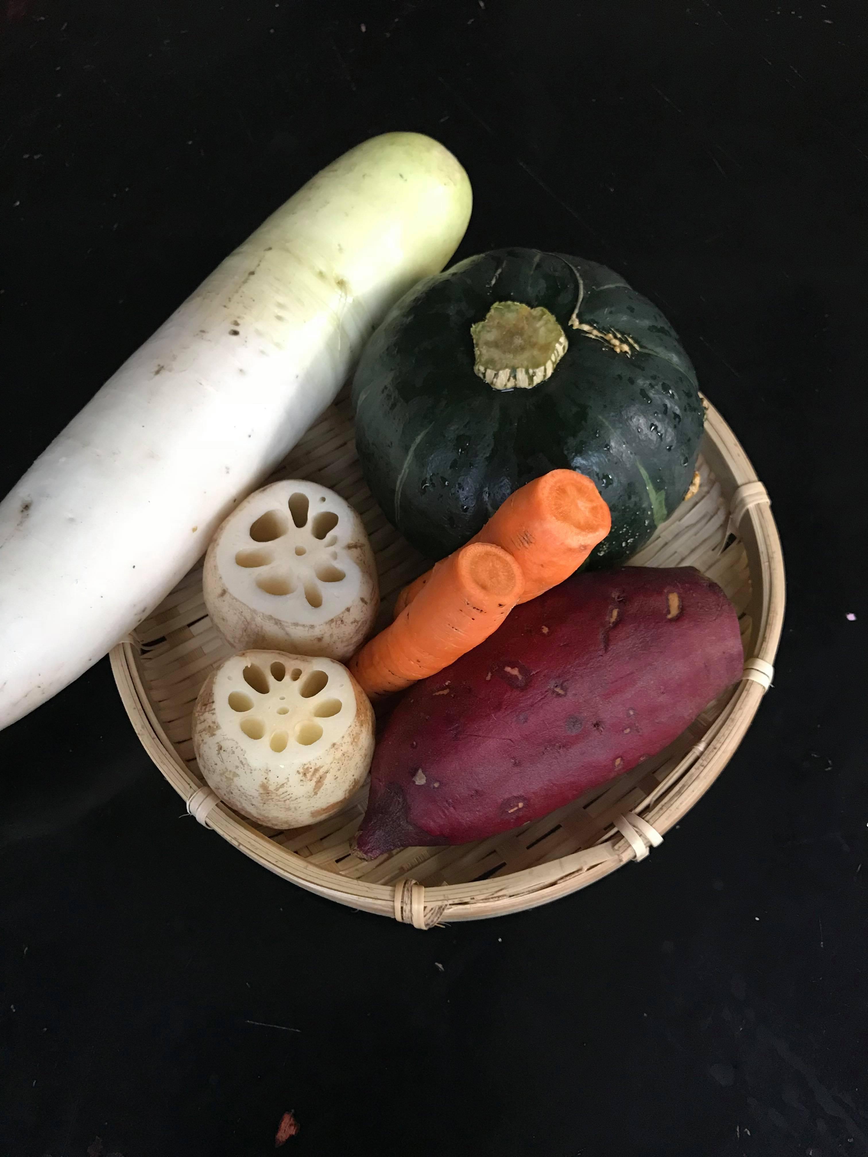 「秋の味覚を一鍋に!秋カレー」侑右さんの一汁一菜ご飯の教室