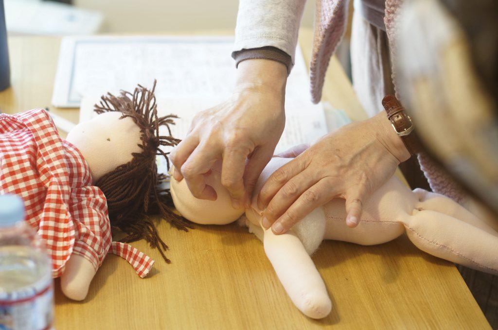 ウォルドルフ人形作ろう