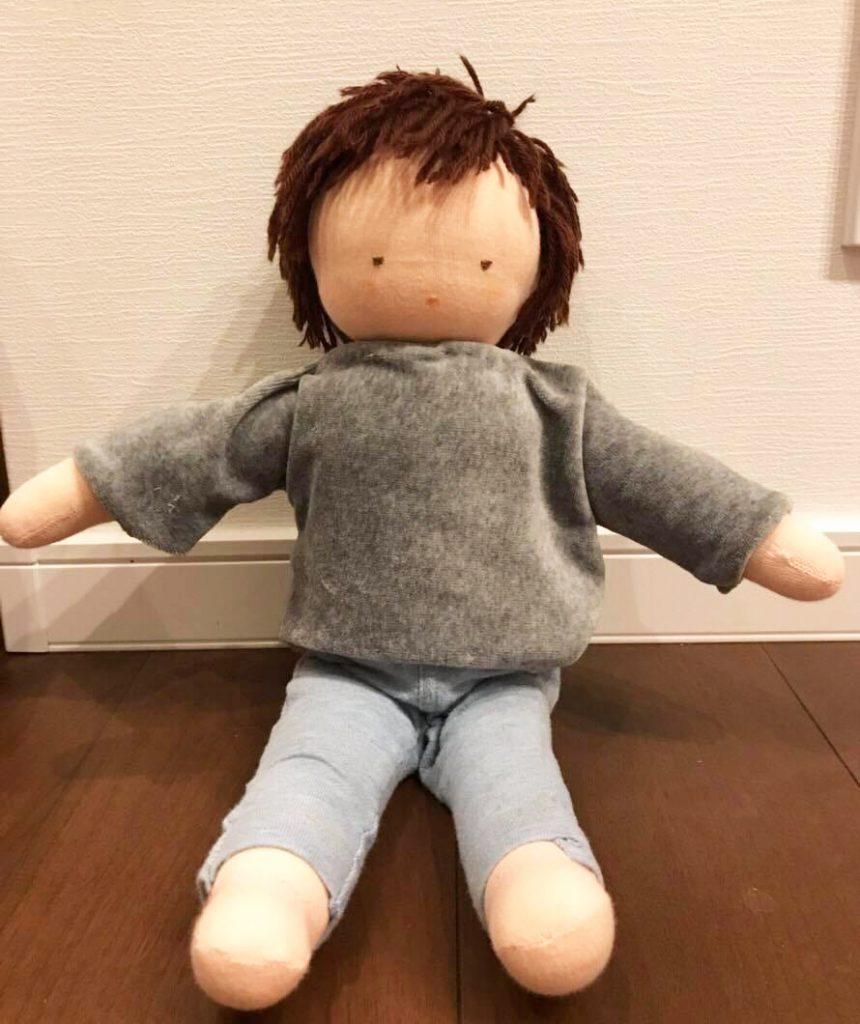 参加者さんが作ったウォルドルフ人形