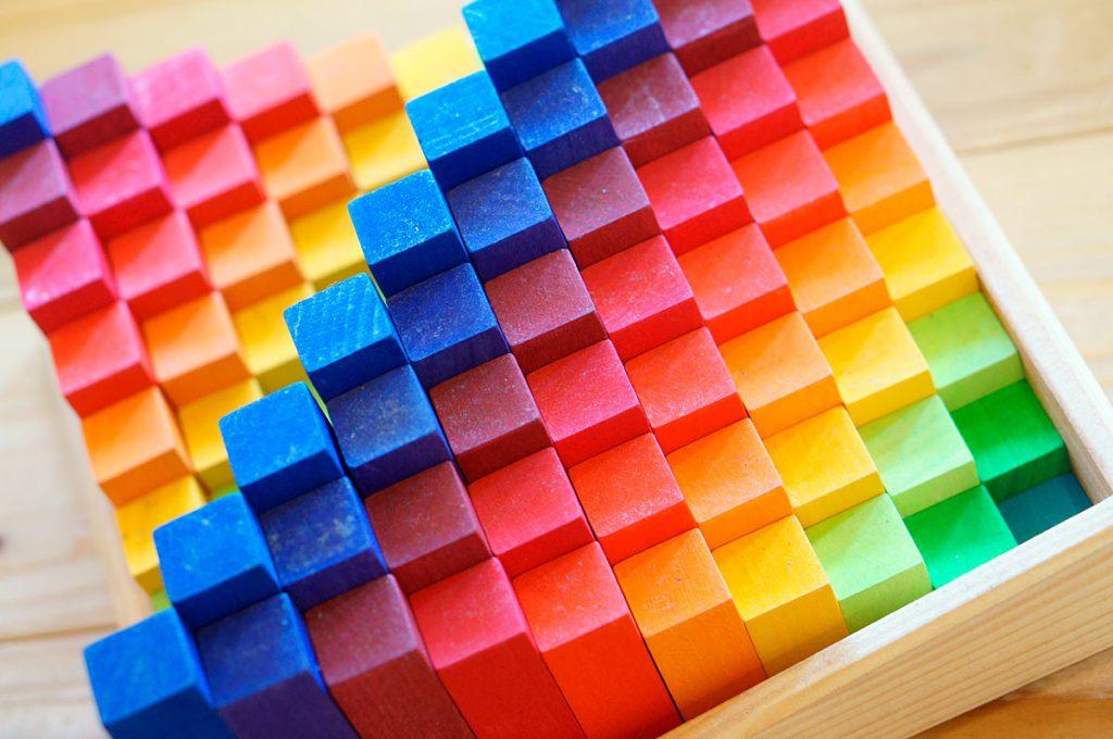 グリム社、虹のカウンティングブロック
