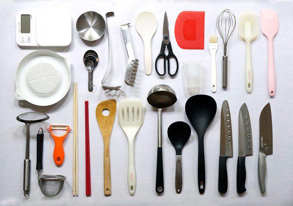 レンタルキッチンの道具たち