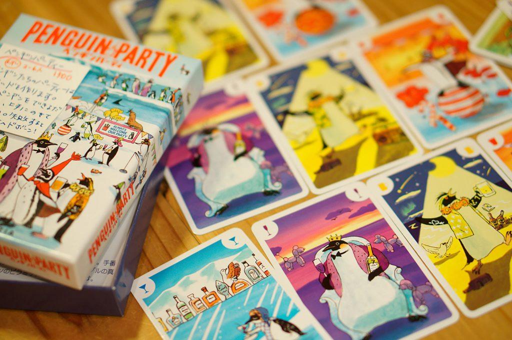 アナログゲームペンギンパーティー