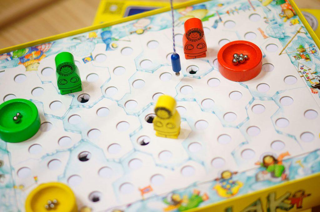 氷上のアナログゲームカヤナック