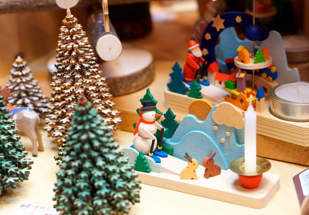 クリスマスのキャンドルホルダー